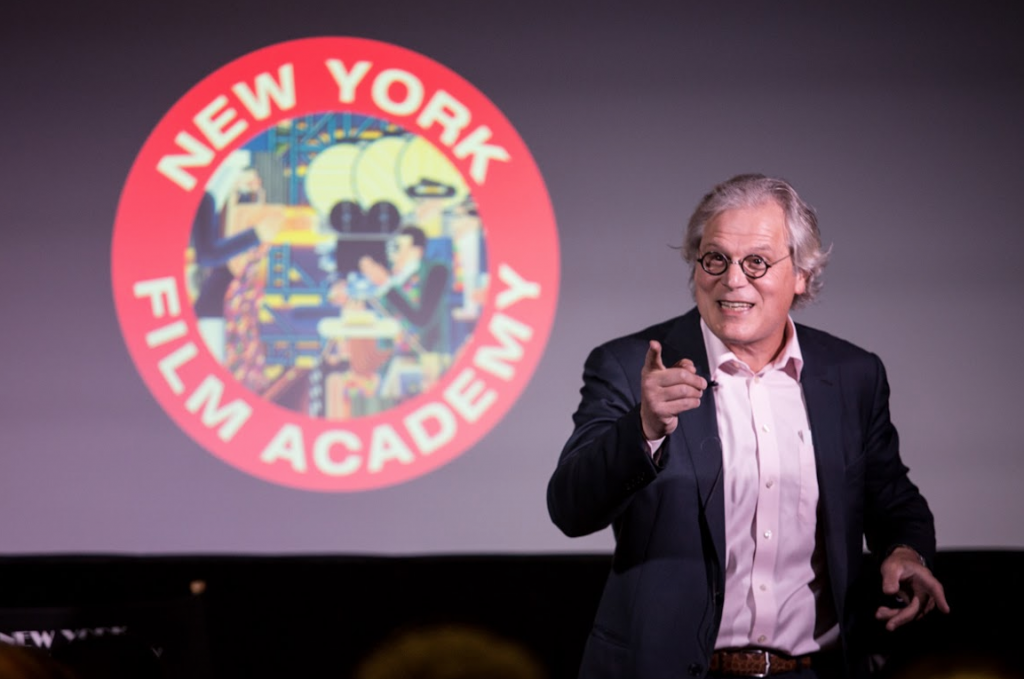 Actor Bruce Altman at NYFA